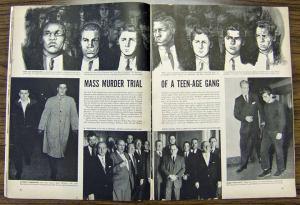 la fameuse page qui déclencha tout, publiée en février 1958